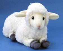 Овца кремовая, 27 см.