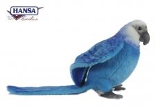 Голубой Ара, 27 см