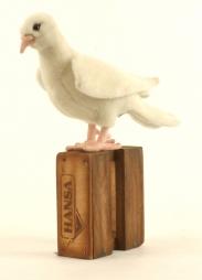 Белый голубь, 20 см