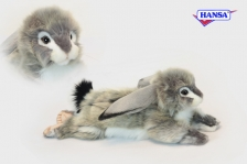 Заяц вислоухий серый, 40 см.