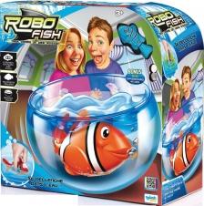 Робо-рыбка с аквариумом
